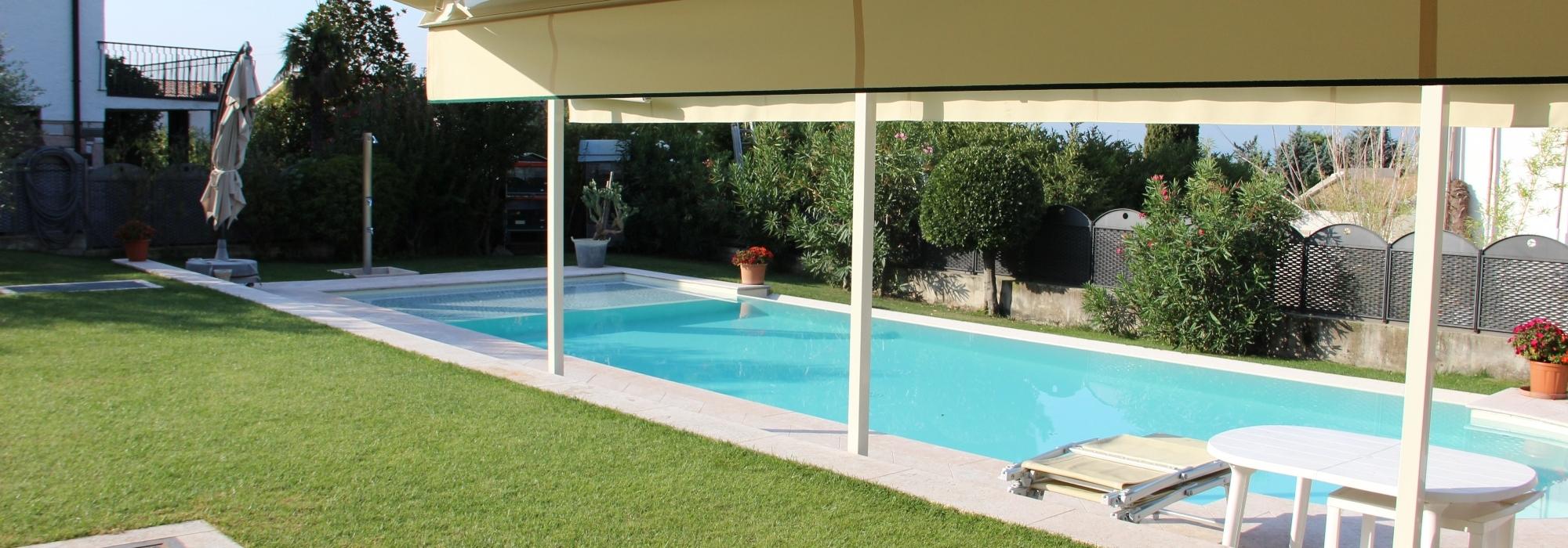Bardolino – Villa prestigiosa con vista Lago e piscina